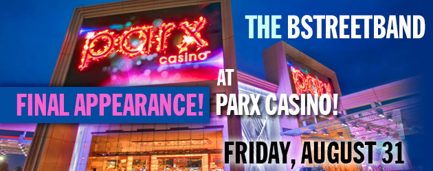 Fri. Aug 18 – Parx Casino – Bensalem, Pa