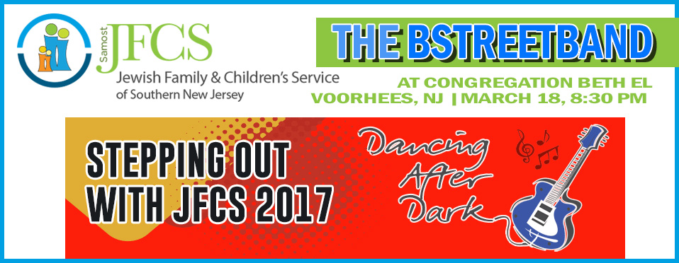Sat. March 18 – Stepping Out with JFCS Fundraiser, Voorhees, NJ