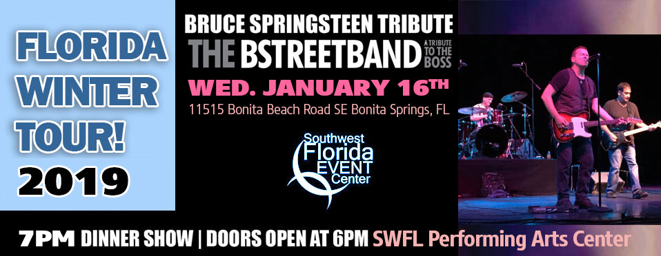 Wed. Jan 24 – SW Florida Event Center, Bonita Springs, FL