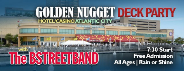 Thu. July 27 – Golden Nugget Casino Deck